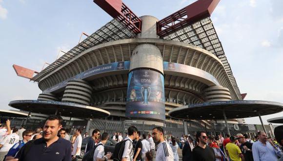 Atlético de Madrid: bus fue apedreado en su llegada a San Siro