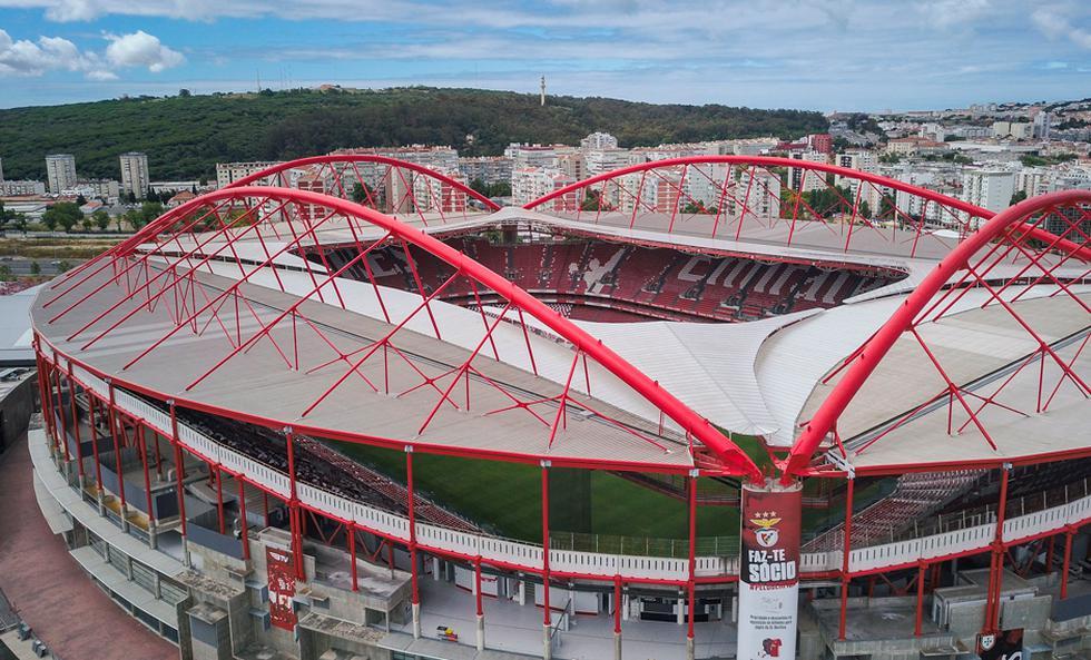 La fase final de la Champions League se desarrollará en el estadio Da Luz de Benfica y en el José Alvalade de Sporting de Lisboa | Foto: AP/EFE/AFP