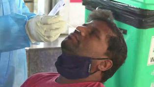 La India registra por primera vez más de 100.000 contagios diarios