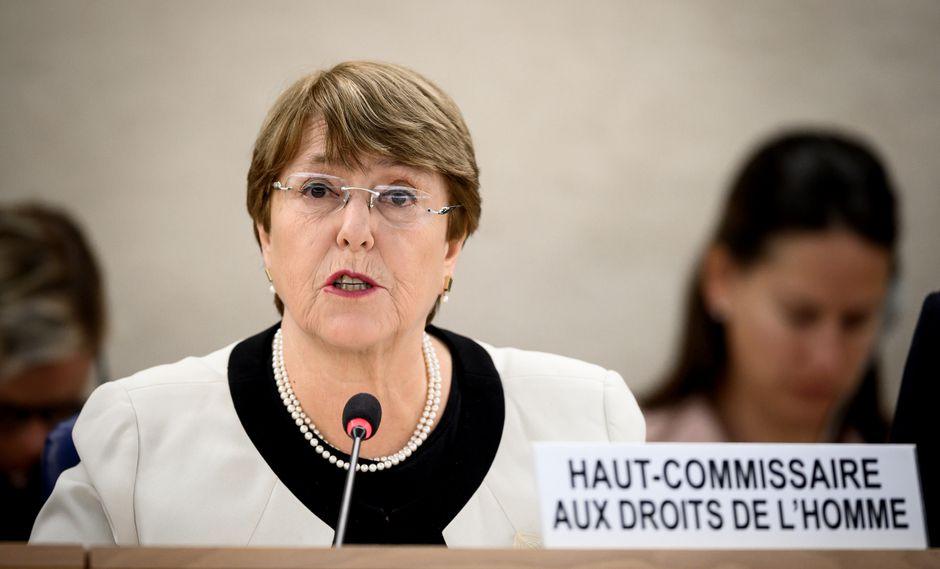 Michelle Bachelet anuncia que una misión de la ONU llegará a Venezuela el 10 de marzo. Foto: AFP