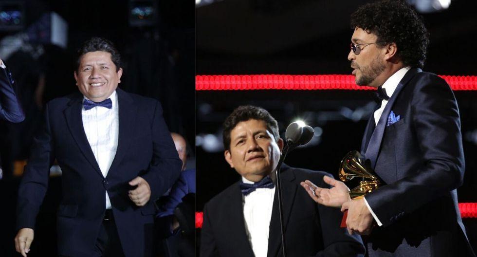 Kike Purizaga, el peruano ganador del Grammy. (Fotos: AFP