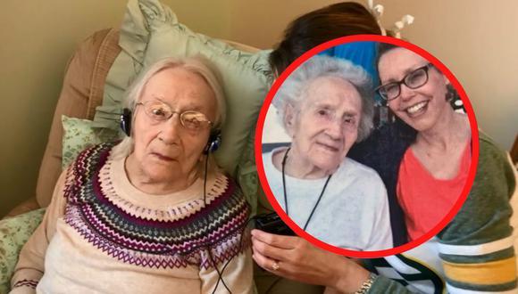Ruth Stryzewski no requirió de hospitalización tras superar el Covid-19 y actualmente se recupera en un asilo de ancianos de Winsconsin. | Crédito: abc13.com