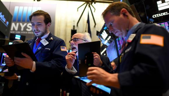 Wall Street rompió un nuevo récord a principios de enero y en Alemania el Dax está operando a su nivel históricamente más alto. (Foto: AFP)