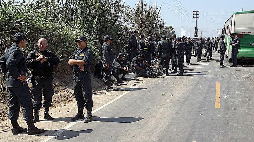 Se necesitan 5.500 policías para la diligencia en Andahuasi - 1