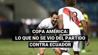 Selección peruana: disfruta las mejores imágenes del partido frente a Ecuador