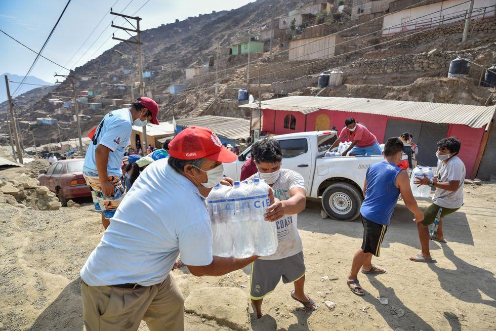 Estas donaciones fueron posibles gracias a la campaña #EnLimaNosAyudamosTodos. (Foto: MML)