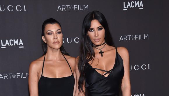 Kourtney Kardashian renuncia al reality show familiar tras pelea con Kim. (Foto: AFP)