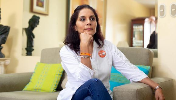 La ex teniente alcaldesa de Lima Patricia Juárez postula por segunda vez al Congreso. Tentó una curul en el 2011 con Solidaridad Nacional, pero solo obtuvo 4,251 votos preferenciales.  (Foto: Violeta Ayasta | El Comercio)
