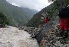 Huancavelica: suspendenbúsqueda de maquinista sepultado por huaico