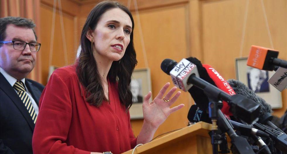 Jacinda Ardern, primera ministra de Nueva Zelanda, pidió un cambio de la ley tras la masacre de Christchurch. (Foto: AFP)