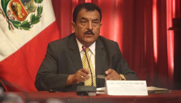 Piden investigar a ex congresista nacionalista Edgard Reymundo