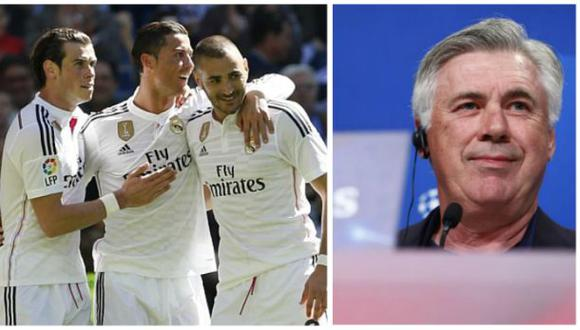 Madrid vs. Bayern: Ancelotti y la peculiar frase sobre la 'BBC'