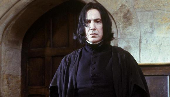 Severus Snape es un personaje ficticio en las series de Harry Potter, escritas por la autora inglesa J. K. Rowling (Foto: Instagram)