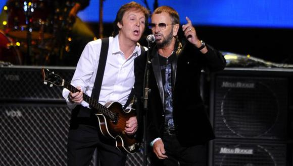 Paul McCartney y Ringo Starr estarán juntos en los Grammy