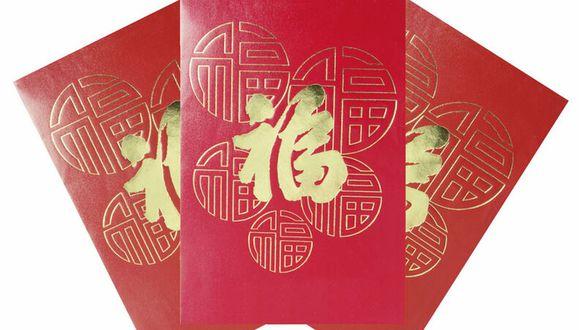 Es una tradición que durante el año nuevo chino se regalen sobres rojos con dinero (Foto: Pixabay)