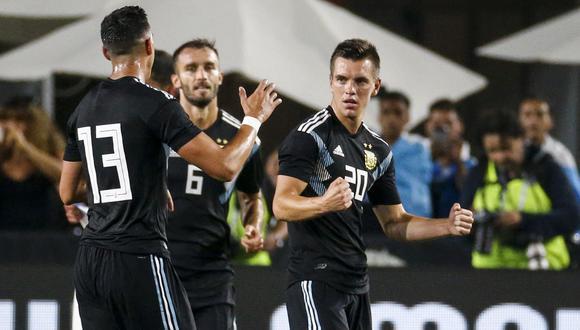 Argentina venció 3-0 a Guatemala en duelo amistoso por fecha FIFA en Los Ángeles. (Foto: AFP)