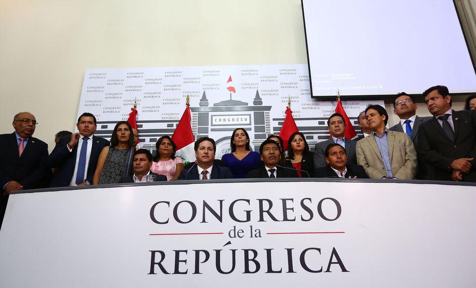 Fuerza Popular buscará mantener la presidencia de la Mesa Directiva para el periodo 2018-2019. (Foto: Congreso de la República)