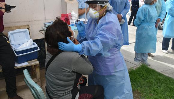 Inician la implementación de uso de pruebas antigénicas para detectar el COVID-19 en Apurímac. (Foto: Diresa Apurímac)