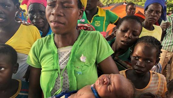 La tormenta ha dejado ya más de 700 muertos y hay miedo a que a las inundaciones le siga una epidemia de cólera. Foto: ONU
