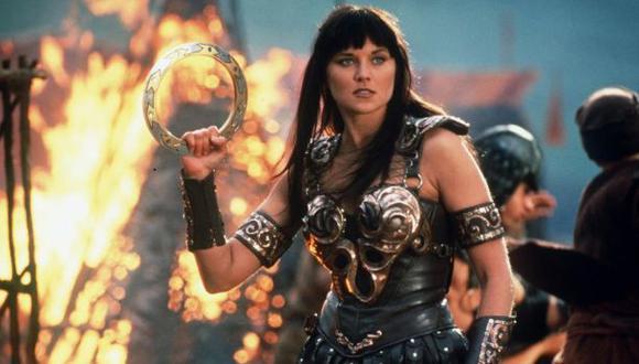 """Cuando atraviesa el aire, los dioses y los hombres tiemblan por igual. Es el grito de guerra de """"Xena: la princesa guerrera"""". (Foto: Universal Television)"""