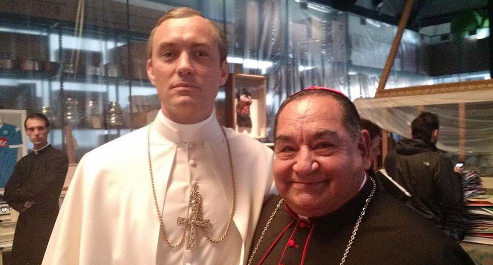 """Ramón García ya se encuentra grabando la segunda temporada de """"The Young Pope"""". (Foto: @ramongarciamoficial)"""