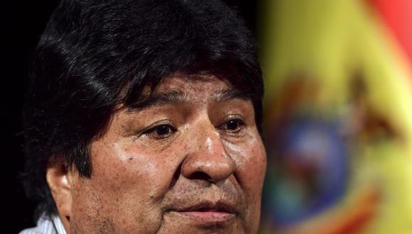 Evo Morales alerta que se gesta un golpe de Estado en Bolivia para instalar un gobierno civil-militar. (Foto :RONALDO SCHEMIDT / AFP).