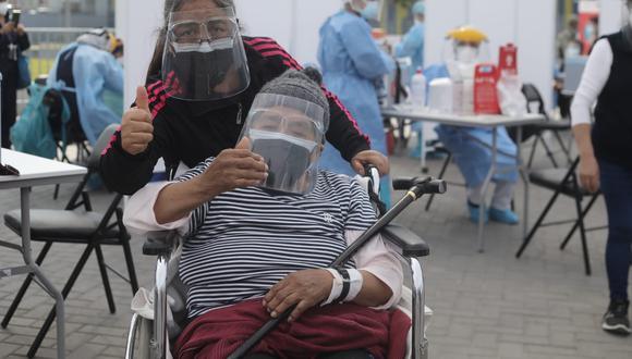 El proceso de vacunación en Lima Metropolitana sigue su curso | Foto: Jorge Cerdán / @photo.gec