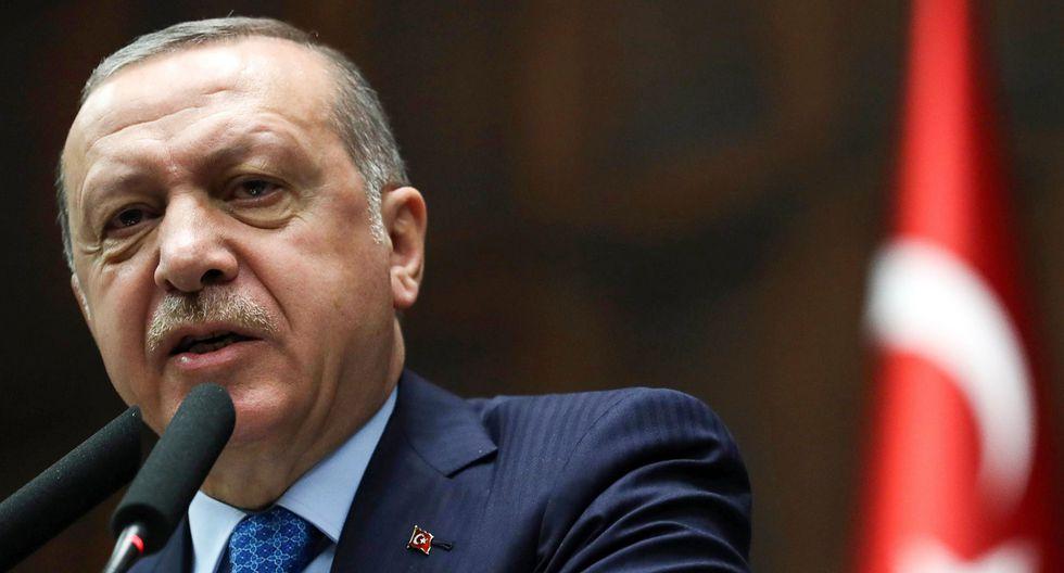 En una de sus declaraciones más vehementes contra Israel, el presidente Recep Tayyip Erdogan también anunció tres días de duelo nacional por las muertes de palestinos este lunes, así como una gran protesta en Estambul el viernes. (AFP).