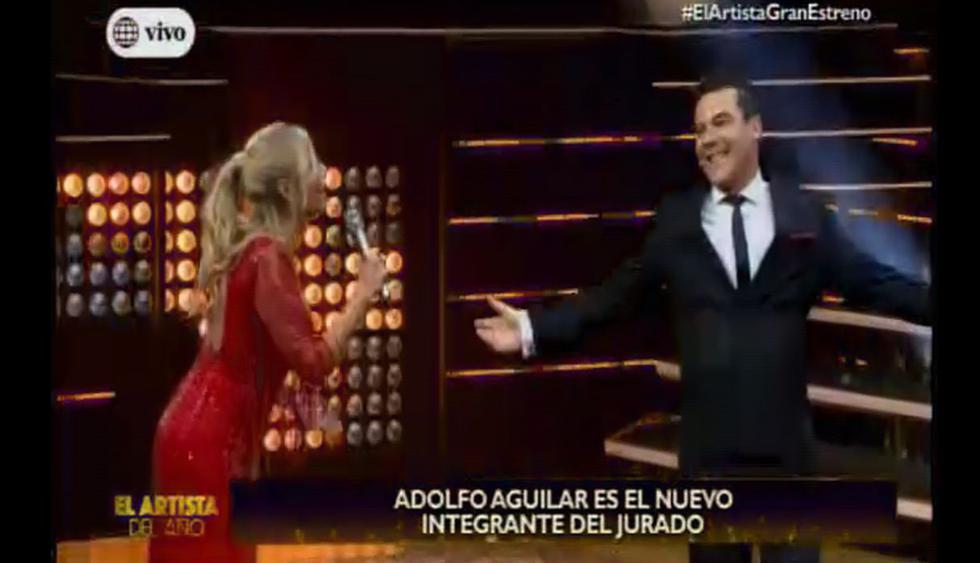 """Adolfo Aguilar es el nuevo jurado de """"El artista de año"""". (Foto: Captura de video)"""