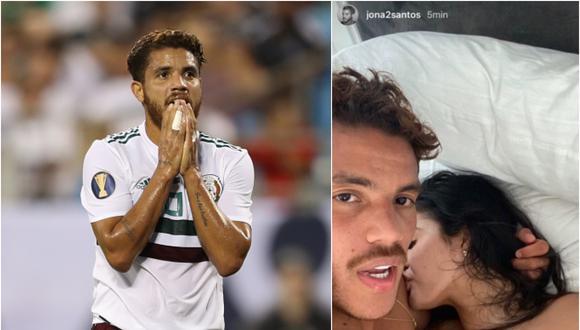 Jonathan Dos Santos mantendría una relación con la modelo Amanda Trivizas, conocida por su parecido con Kylie Jenner. (Foto: Collage)