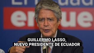 Guillermo Lasso derrota al correísta Arauz y es el nuevo presidente de Ecuador