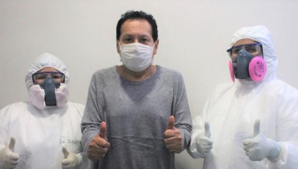Madre de Dios: Asencios fue trasladado a la ciudad de Lima el 8 de junio para recibir atención especializada.