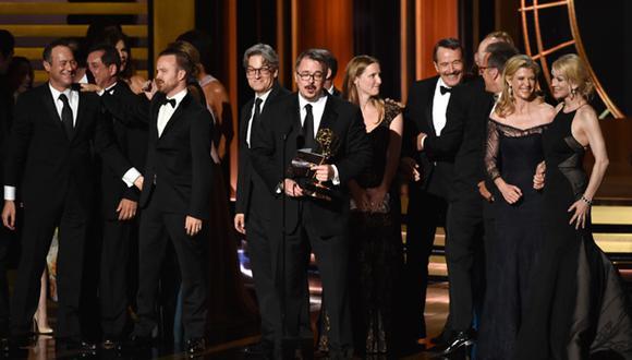 """Emmy 2014: """"Breaking Bad"""" fue la gran ganadora de la noche"""