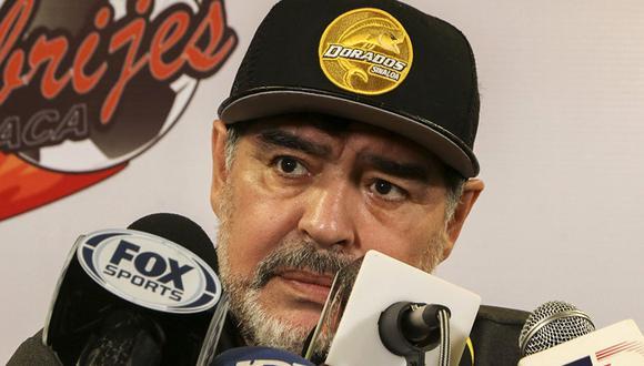 Diego Maradona no acepta su derrota y asegura que llevará el caso a la FIFA. (Foto: AFP)