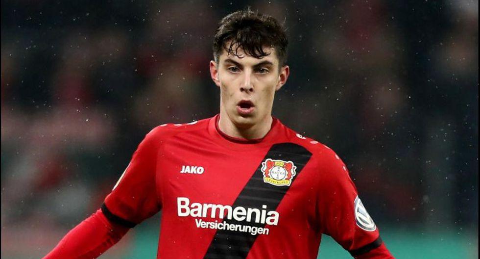 Kai Havertz - Bayer Leverkusen. (Foto: AFP).