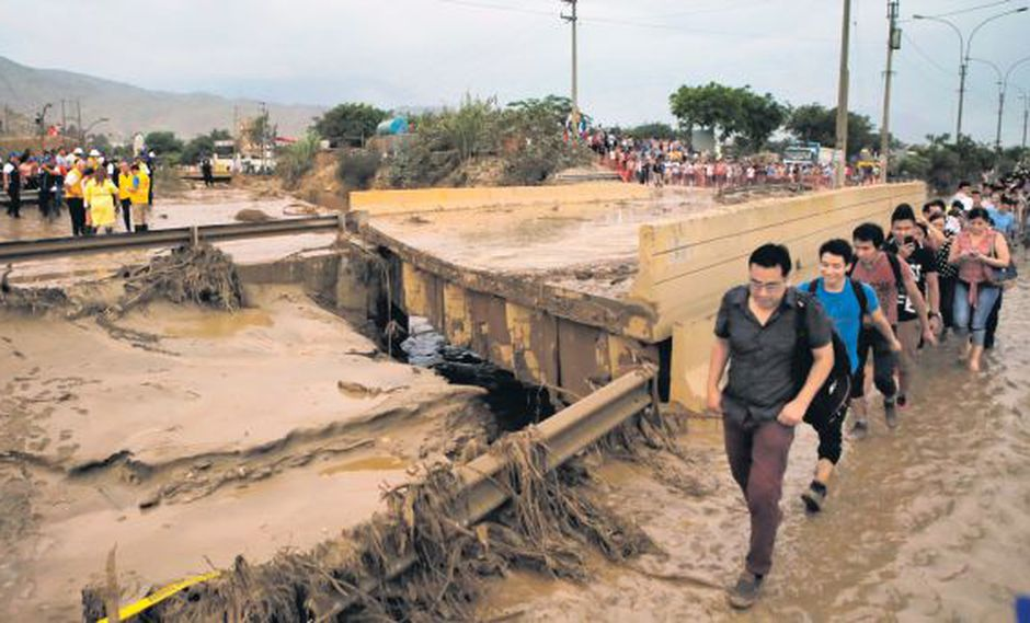 Río Huaycoloro, el afluente del Rímac sigue siendo una amenaza