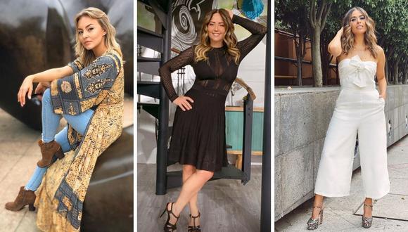 Diferentes figuras exclusivas de Televisa se verían afectados por una reducción de sus sueldos. (@angeliqueboyer / @andrealegarreta / @galileamontijo).
