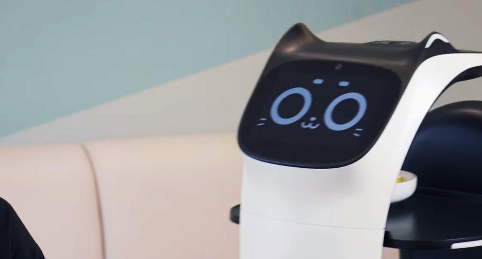 Así es BellaBot, el robot camarero que pretende ingresar a los restaurantes con poco personal. (Foto: PuduTech)