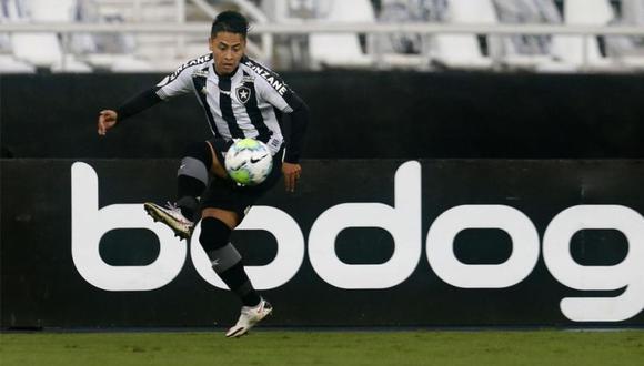 Presidente de Botafogo se pronunció sobre futuro de Alexander Lecaros | Prensa: Botafogo