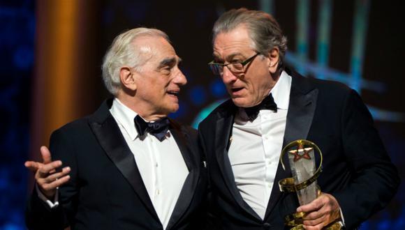 Martin Scorsese y Robert De Niro en el festival de cine de Marrakech. (Foto: EFE)