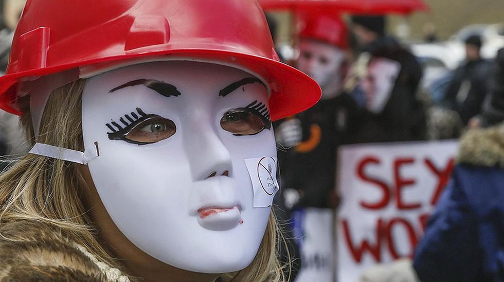 Protestan por la legalización de la prostitución en Ucrania - 6