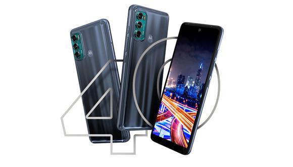 Motorola lanza el Moto 40 Fusion, el smartphone con tasa de refresco de 120 Hz. (Foto: Motorola)