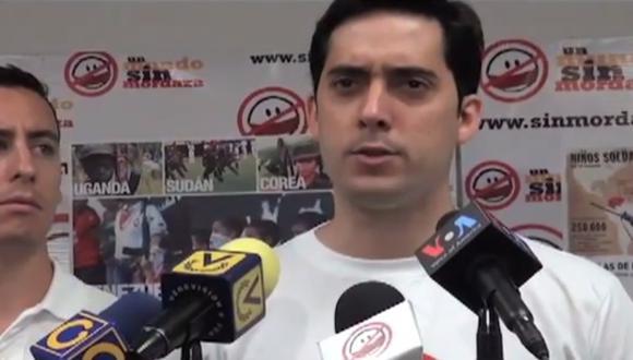 Detienen a creador de campaña SOS Venezuela
