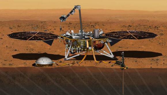 La NASA enviará el robot InSight a Marte en 2018