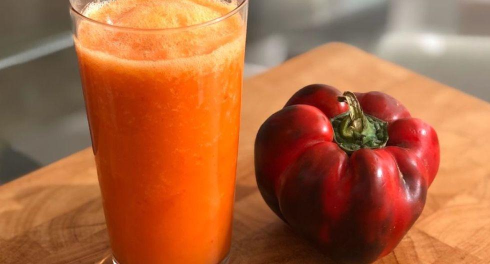 La combinación de zanahoria, naranja y pimiento puede resultar extraña, pero es muy nutritiva para los niños. (Foto: Instagram 'Yo Madre')