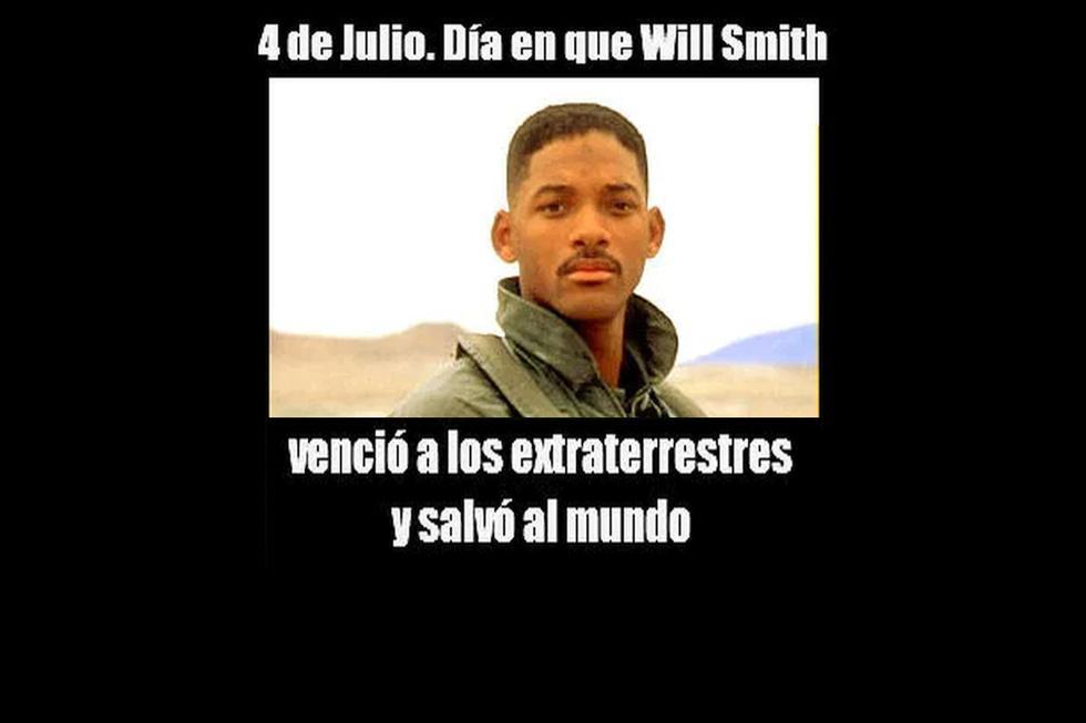 Foto 1 de 3 | Usuarios aprovecharon para recordar una película protagonizada por Will Smith. (Foto: Composición / Facebook)
