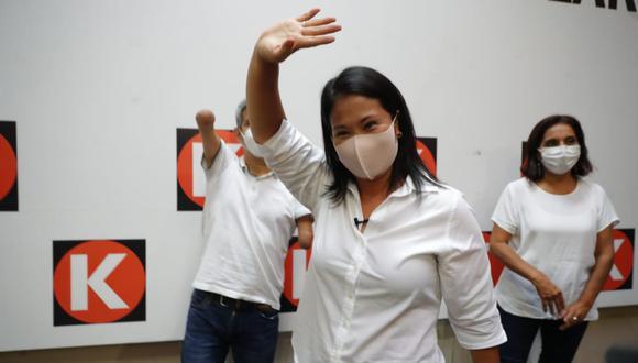 Keiko se pronuncia por primera vez tras elecciones del 11 de abril (Foto: Gian Carlo Ávila)
