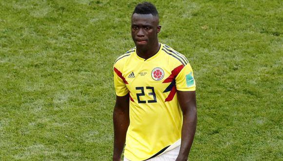 Davinson Sánchez, defensa de Colombia. (Foto: EFE)