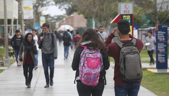 """Minedu señala que postergación de clases no incluye universidades porque son """"autónomas"""". (Foto: GEC)"""