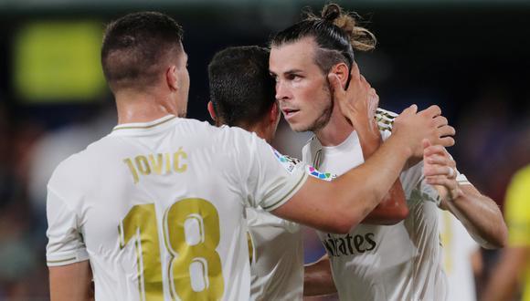 Real Madrid vs. Villarreal EN VIVO: Bale anotó golazo para el empate 1-1 tras gran jugada colectiva | VIDEO. (Foto: AFP)